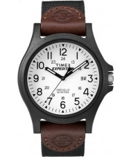 Timex TW4B08200 Mens ekspeditionen brunt stof rem ur