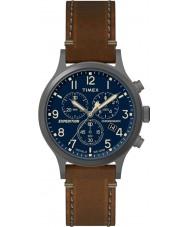 Timex TW4B09000 Mens ekspeditionen brun læderrem ur