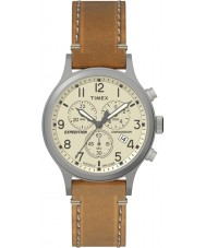Timex TW4B09200 Mens ekspeditionen tan læderrem ur