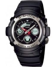 Casio AW-590-1AER Mens g-shock sort kronograf sportsur