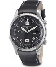 Elliot Brown 202-012-L02 Mens bjerg redning udgave Canford sort ur med yderligere vævet sort ballistisk nylon rem