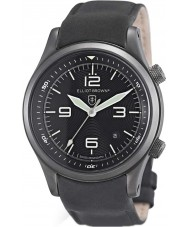 Elliot Brown 202-004-R06 Mens Canford mat sort læderrem ur