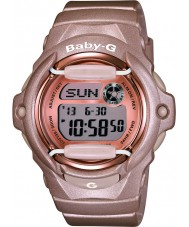 Casio BG-169G-4ER Ladies baby g telememo verden tid pink resin rem ur