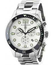 Elliot Brown 929-007-R01 Mens bloxworth sølv stål kronograf ur