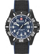 Swiss Military 6-4309-17-003 Herre sort carbon ur