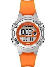 Timex TW5K96800 Ladies maraton midten størrelse appelsin harpiks kronograf rem ur