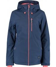 Oneill 655032-5032-L Ladies solo blå nætter jakke - størrelse l