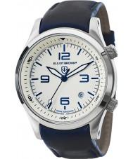 Elliot Brown 202-001-L06 Mens Canford blå læderrem ur