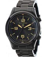 Elliot Brown 202-002-B04 Mens Canford sort ip stållænke ur