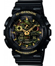 Casio GA-100CF-1A9ER Mens g-shock sort kronograf ur