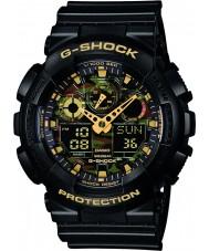 Casio GA-100CF-1A9ER Mens g-shock sort kronograf ur