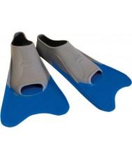 Zoggs 300395 Ultra blå og grå uddannelse finner - uk størrelse 12
