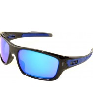 Oakley Oo9263-05 turbine sort blæk - safir iridium solbriller