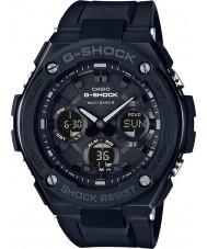 Casio GST-W100G-1BER Mens g-shock radiostyret sol sort ur