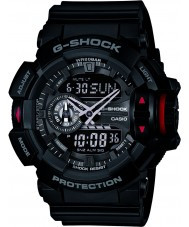 Casio GA-400-1BER Mens g-shock sort kronograf ur