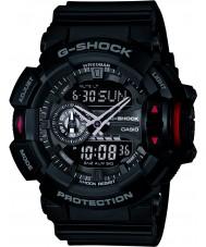 Casio GA-400-1BER Mens g-shock sort kronograf ur