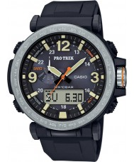 Casio PRG-600-1ER Mens pro trek soldrevne sort digital ur