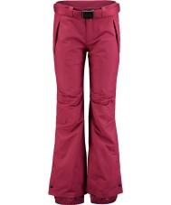 Oneill 658018-3049-XL Ladies stjerne lidenskab røde skibukser - størrelse XL