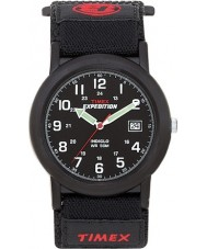 Timex T40011 Mens Black camper ekspedition ur