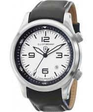 Elliot Brown 202-005-L02 Mens Canford sort læderrem ur