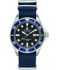 Swiss Military 6-4279-04-007-03 Mens søløve blå nylon rem ur