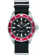 Swiss Military 6-4279-04-007-04 Mens søløve sort nylon rem ur
