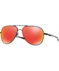 Oakley Oo4119-04 Elmont m og l satin sort - rubin iridium solbriller