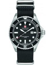 Swiss Military 6-4279-04-007-07 Mens søløve sort nylon rem ur