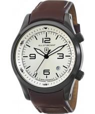 Elliot Brown 202-009-L05 Mens Canford brun læderrem ur