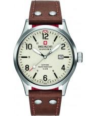 Swiss Military 6-4280-04-002-05 MENS undercover brun læderrem ur