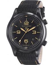 Elliot Brown 202-008-L11 Mens Canford sort læderrem ur