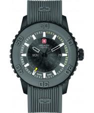 Swiss Military 6-4281-27-007-30 Mens tusmørke grå silikone rem ur