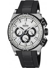 Festina F16970-1 Mens chrono cykel sort gummi kronograf ur