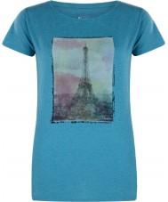 Dare2b Ladies tårn over emalje blå marl t-shirt