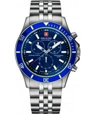 Swiss Military 6-5183-7-04-003 Mens flagskib chrono sølv ur