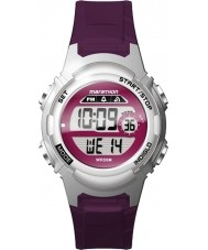 Timex TW5M11100 Ladies maraton lilla resin rem ur