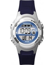 Timex TW5M11200 Ladies maraton blå resin rem ur