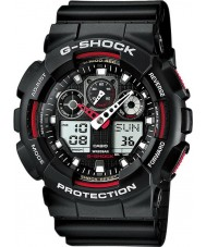 Casio GA-100-1A4ER Mens g-shock auto LED lys sort ur
