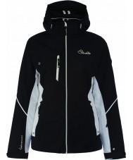 Dare2b DWP334-80010L Ladies ætset linjer sort jakke - størrelse 10 (s)