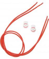 Zone3 Z14278 Elastiske røde snørebånd