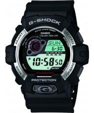 Casio GR-8900-1ER Mens g-shock soldrevne sort resin rem ur