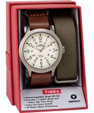 Timex TWG016100 Herre ekspedition scout watch gave sæt