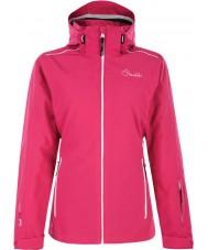 Dare2b DWP305-1Z006L Ladies arbejde op elektrisk pink skijakke - størrelse uk 6 (XXS)