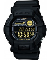Casio GD-350-1BER Mens g-shock verden tid sort ur