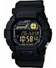 Casio GD-350-1BER Mens g-shock verden tid sort ur