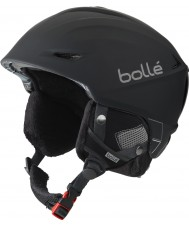 Bolle 31186 Skarp sort Digitalism ski hjelm - 54-58cm