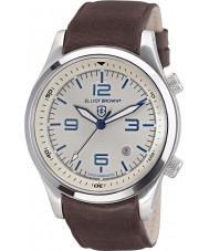 Elliot Brown 202-001-L09 Mens Canford brun læderrem ur