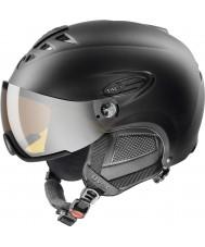 Uvex 5661622205 Hlmt 300 sort skihjelm med lasergold visir - 55-58cm