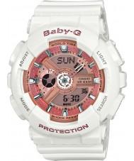 Casio BA-110-7A1ER Ladies baby g verdenstid hvid harpiks rem ur