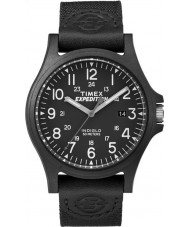 Timex TW4B08100 Mens ekspeditionen sort stof rem ur